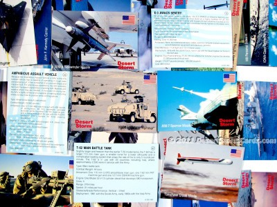 Link to info about DSI's Desert Storm trading cards