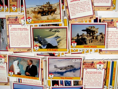 Link to info about Pacific's Operation Desert Storm trading cards